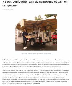 2016 Daily Eurosatory n° 2 – Ne pas confondre : pain de campagne et pain en campagne